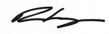 Rea Carey Signature